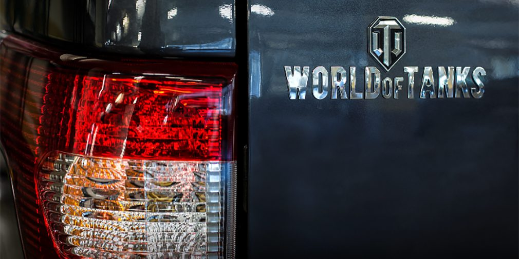 UAZ Patriot в спецверсии World of Tanks