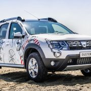 Dacia Duster получил спец версию Strongman Extra Limited Edition