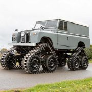 Land Rover Series II от Cuthbertson: «динозавр на гусеницах»