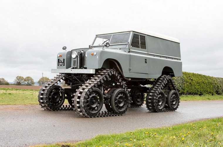 "Land Rover Series II от Cuthbertson: ""динозавр на гусеницах"""