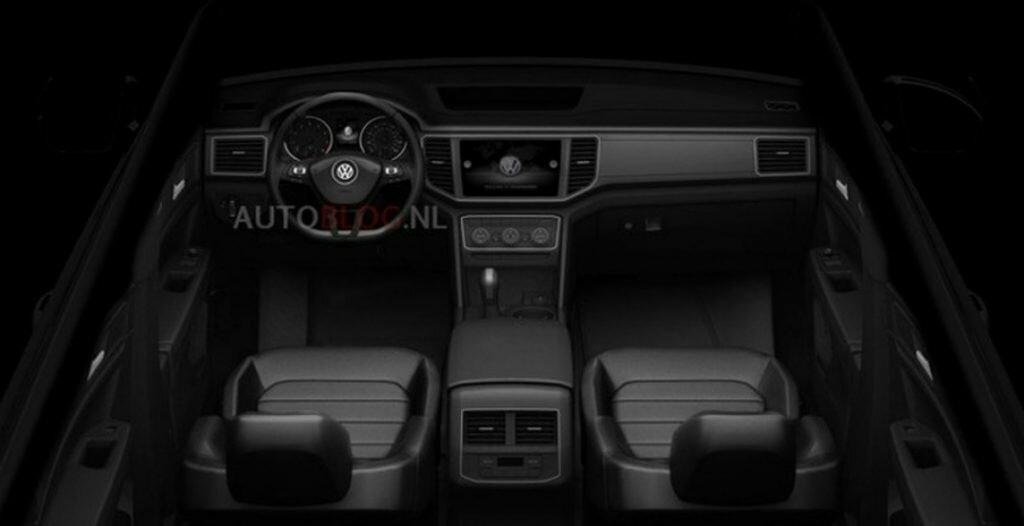 Volkswagen Passat CC, Golf и Teramont показали интерьер