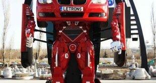 Турецкие инженеры превратили машину в настоящий управляемый трансформер