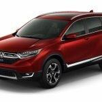 Honda CR-V 2017: новый кузов, турбодвигатель и премиальный дизайн