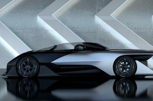 Faraday Future представит первый серийный FFZERO1