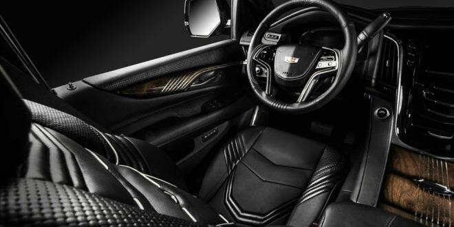Cadillac Escalade получил стильный тюнинг салона