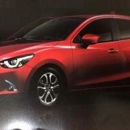 Хэтчбек Mazda2 2019 раскрыт в Сети: подробности о фейслифтинге