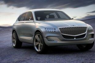 Автосалон в Нью-Йорке: Genesis GV80 Fuel Cell Concept
