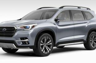 Subaru Ascent Concept: подробности о дебюте на Нью-Йоркском автосалоне