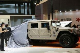 """Humvee C-Series - новое имя гражданского """"молотка"""" Hummer H1"""