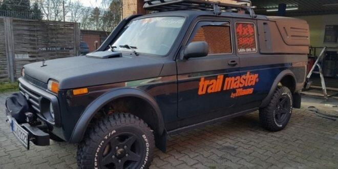 В Германии за Lada 4×4 Freestyle просят 25 000 евро