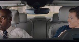 Новый человек паук тестирует новый Audi A8