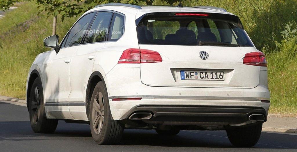 Серийный Volkswagen Touareg 2019: подробности о новом поколении кроссовера
