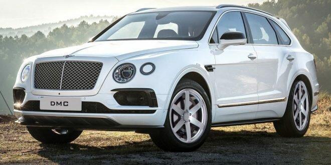 Bentley Bentayga яркий тюнинг от DMC