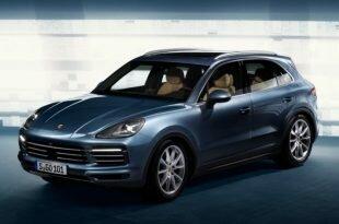 Porsche Cayenne 2018 официальные фото и новые подробности