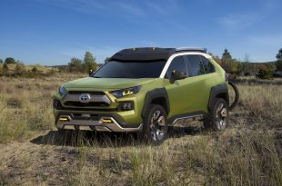 Future Toyota Adventure Concept-концептуальный «приключенческий» кроссовер