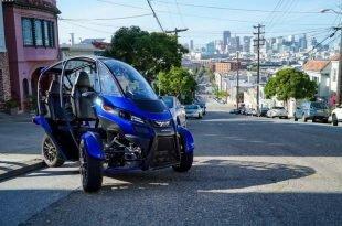На международной автомобильной выставке в Лос-Анджелесе представили необычное транспортное средство Arcimotor SRX.