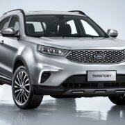 "Ford Territory - новый бюджетный кроссовер на базе ""китайца"""