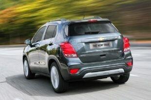 Chevrolet Tracker 2019: фото и характеристики