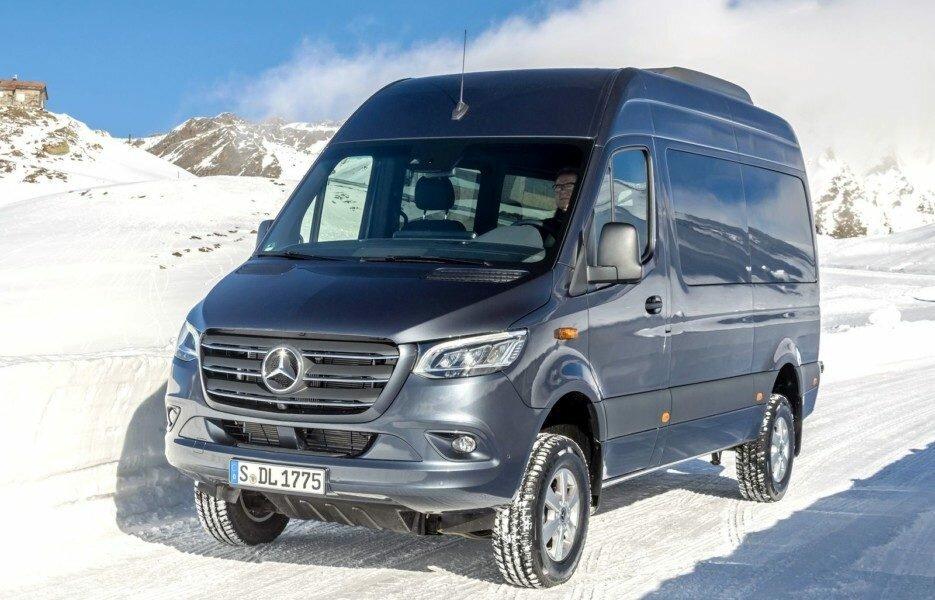 Новый Mercedes-Benz Sprinter 4×4 в России