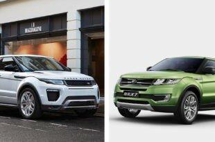 Клон Range Rover Evoque