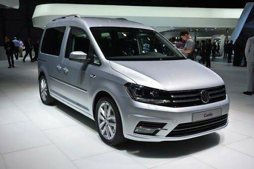 Новый VW Caddy спереди